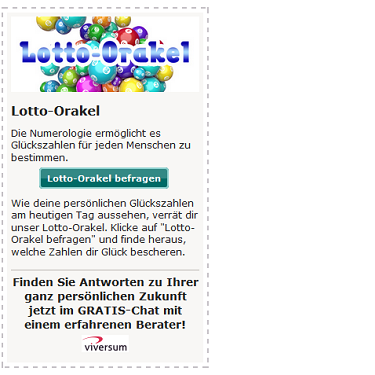 Lotto Orakel